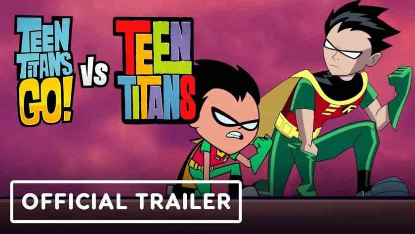 Teen Titans GO! vs Teen Titans – Ecco il primo trailer