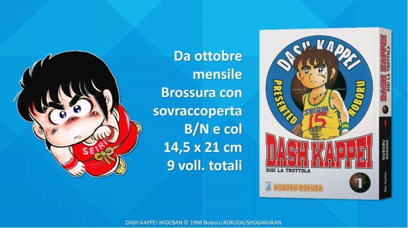 Il primo numero della ristampa di Dash Kappei