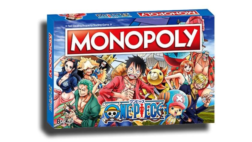 La scatola del Monopoly di One Piece