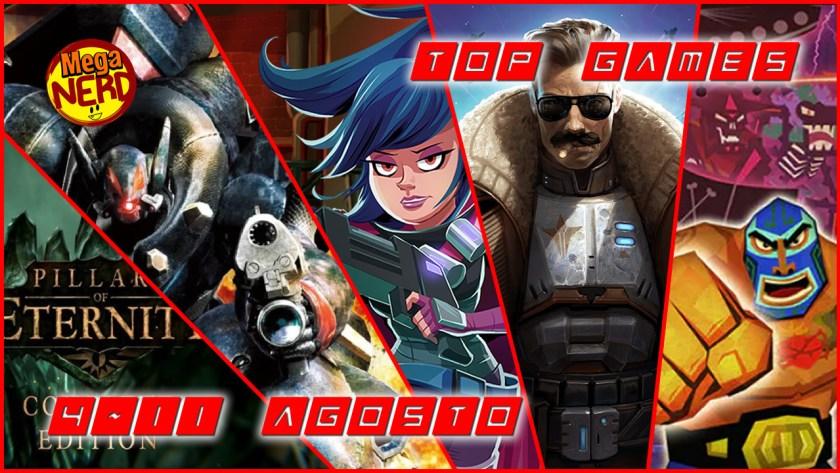 Top Games 4-11 Agosto