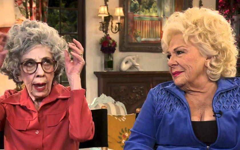 Zia Yetta e zia Assunta nella serie