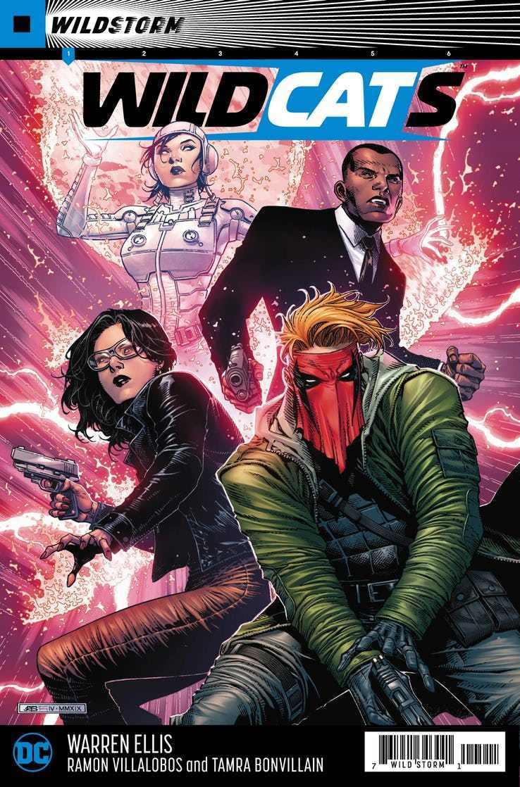 DC Comics – WildCATs rimandato a data da destinarsi