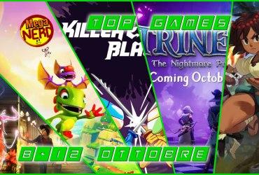 Top Games 8-12 Ottobre evidenza