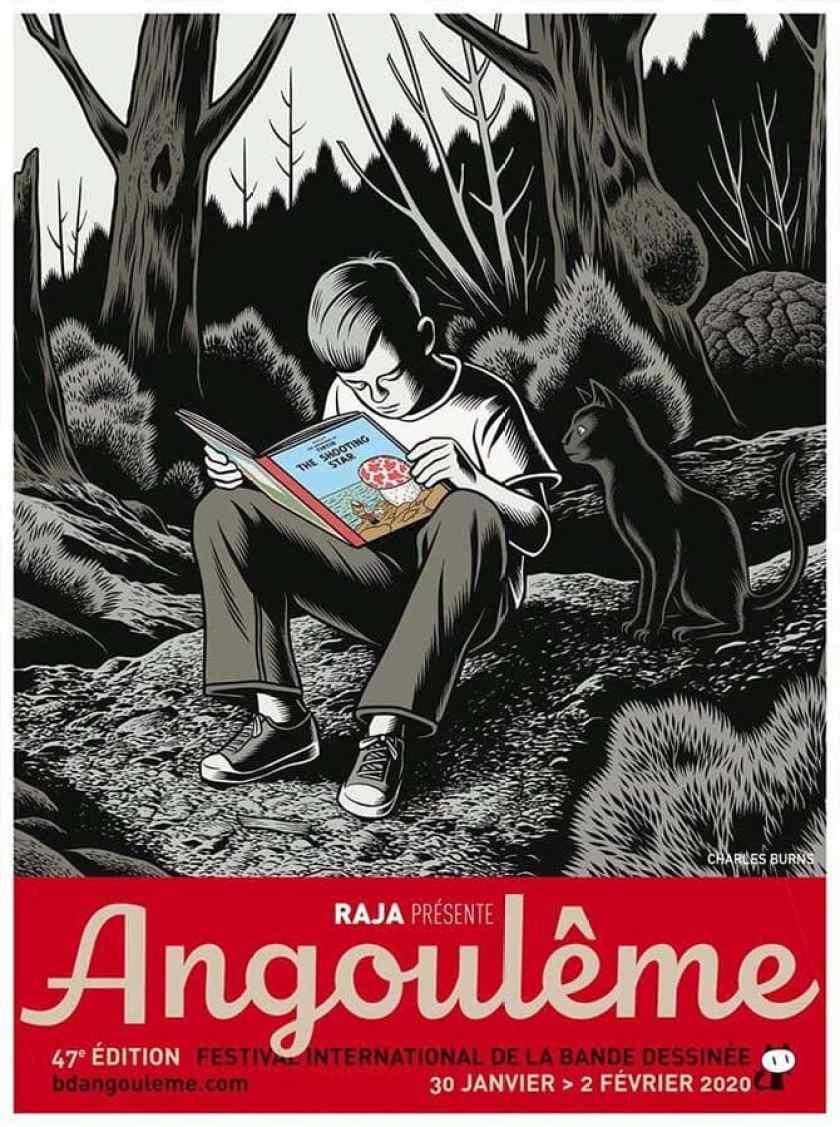 poster Burns Angouleme