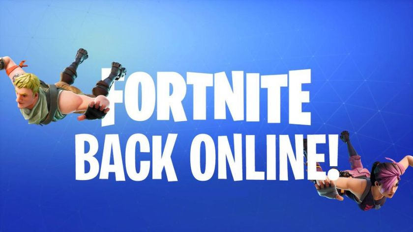 fortnite is back