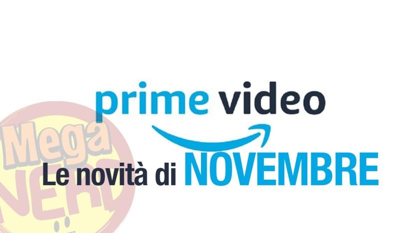 prime video NOVEMBRE