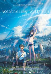 weathering with you poster