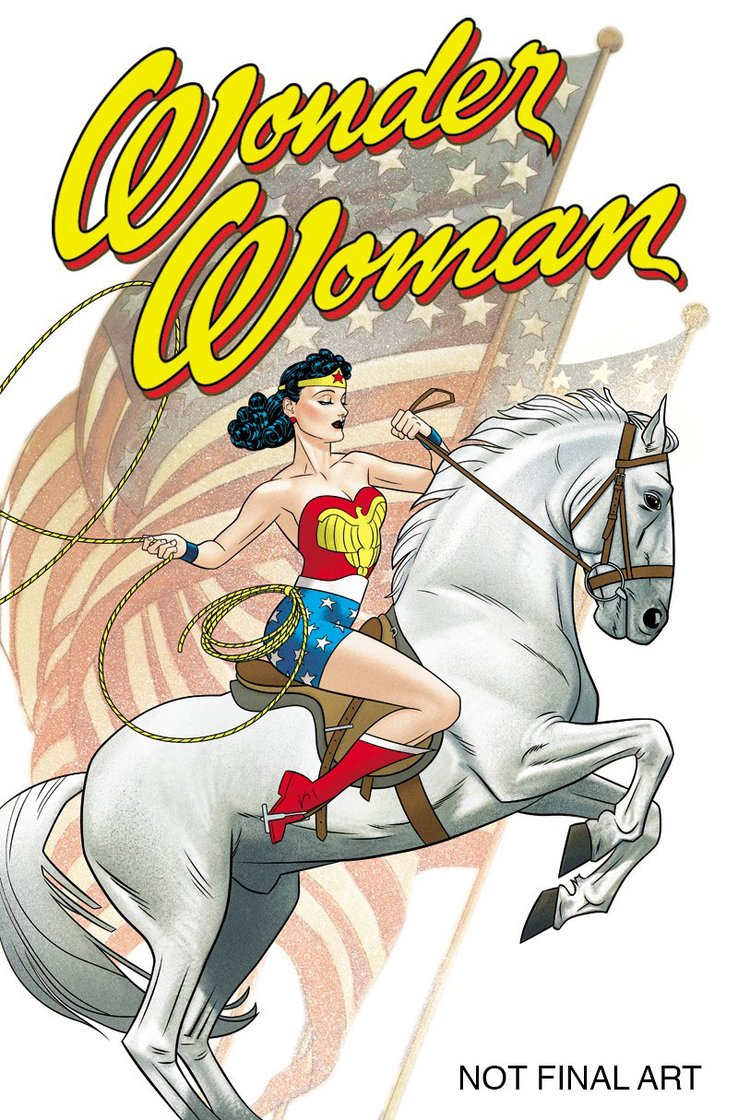 Wonder Woman #750, variant cover di Joshua Middleton