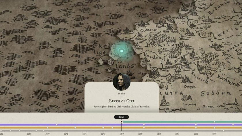 The Witcher mappa2