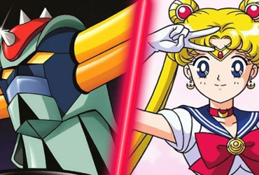sailor moon vs goldrake
