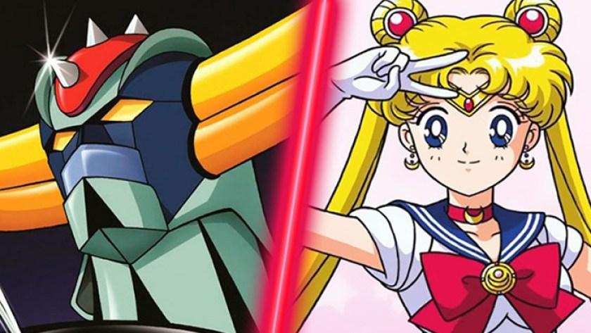 sailor moon vs goldrake