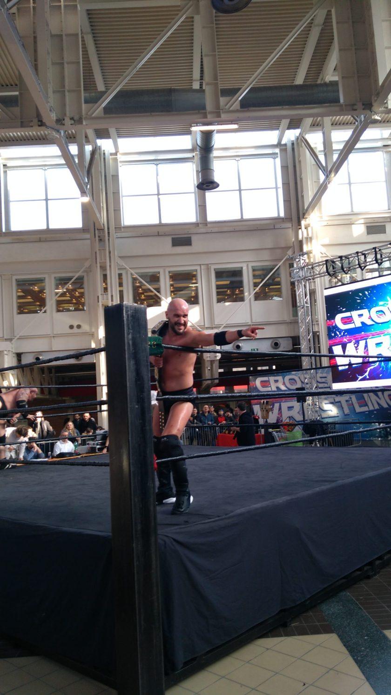 'Stone Cold' Steve Austin, primo campione del Crossover Wrestling