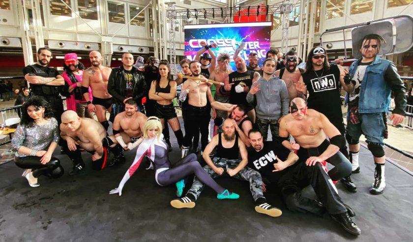 #crossover wrestling