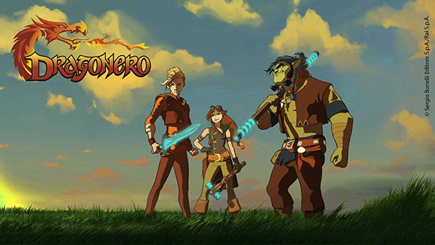 Dragonero serie