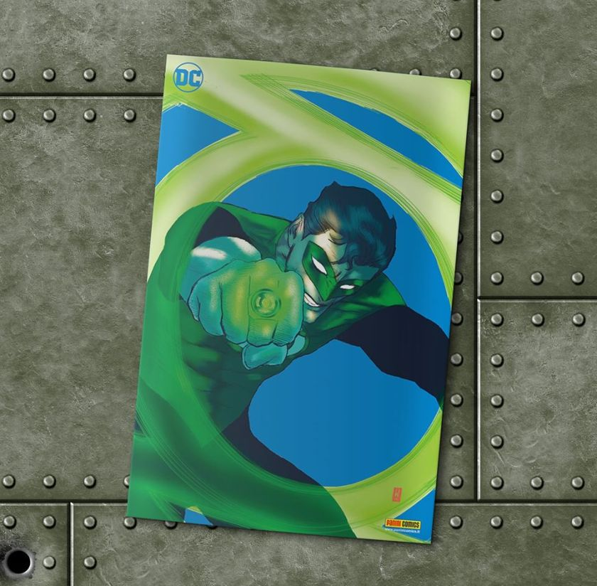 lanterna verde alfa
