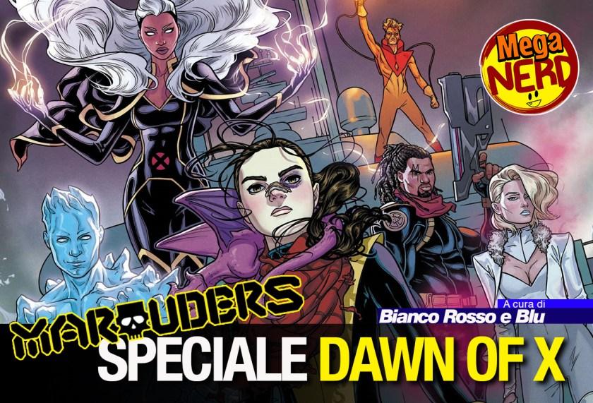 speciale dawn of x - marauders 1