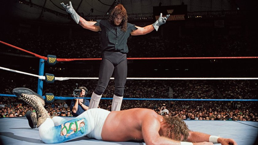 undertaker vs jake the snake