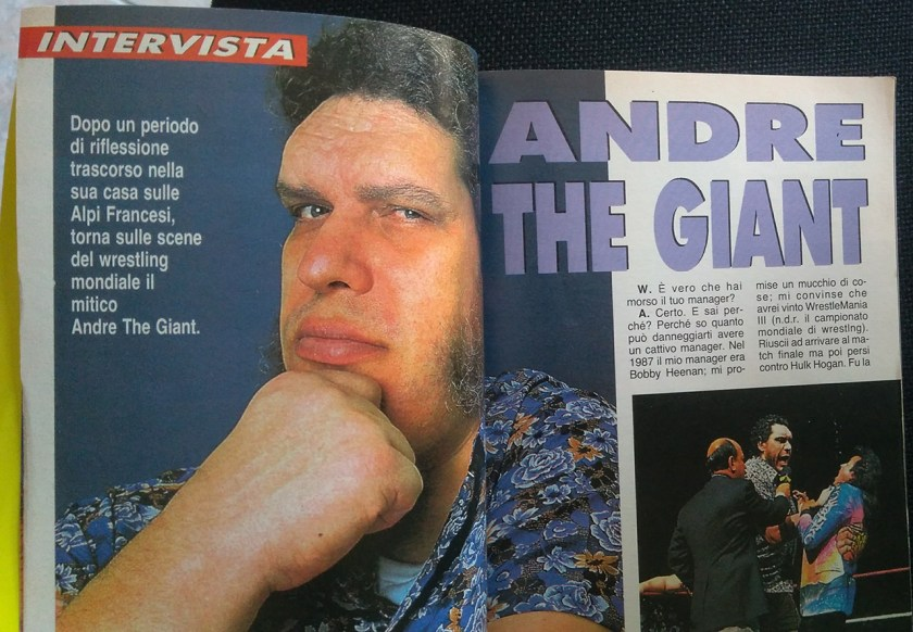 wm intervista andre the giant