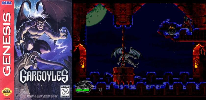 gargoyles-videogioco
