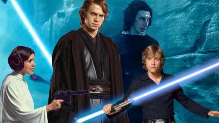 Famiglia Skywalker - photo credit: web