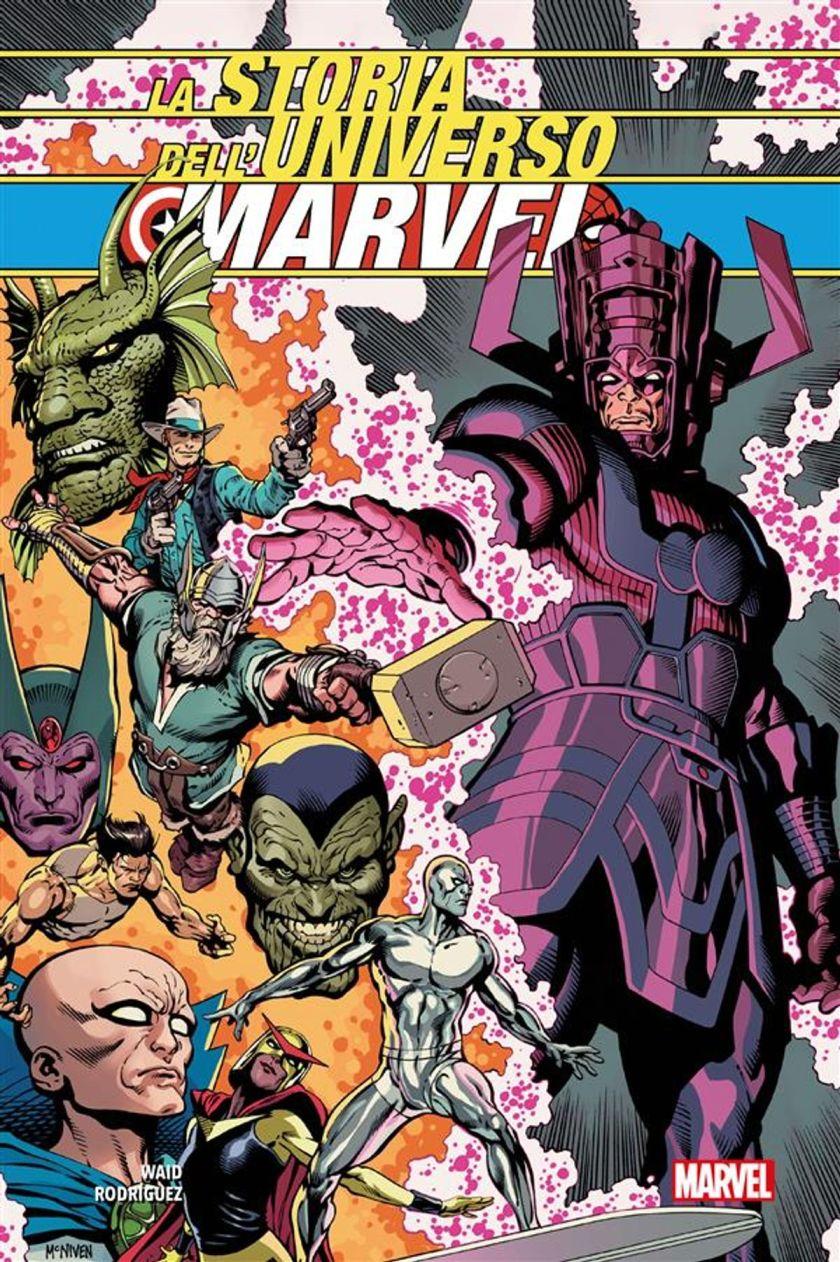 La Storia dell'Universo Marvel