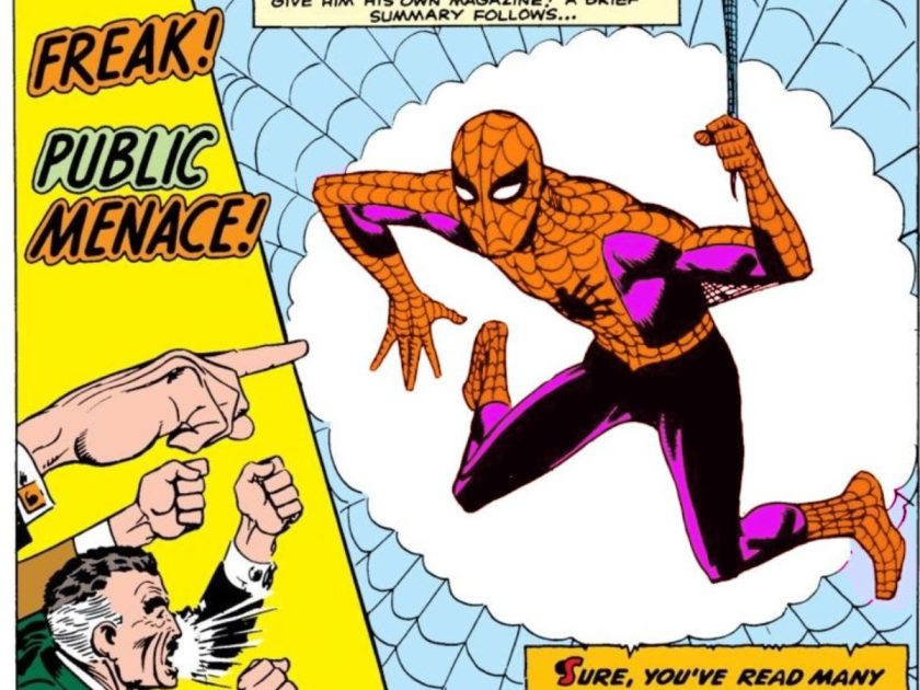 spider-man viola