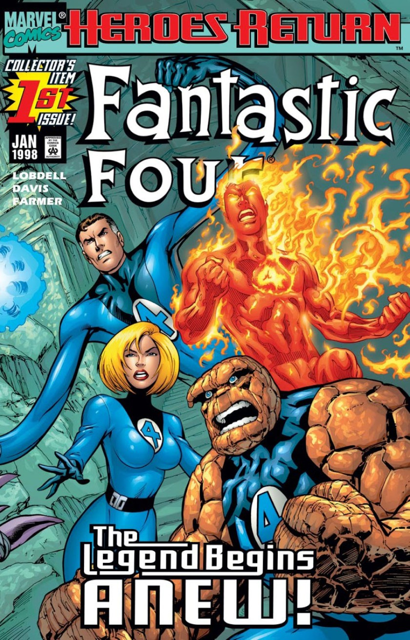 fantastic four heroes return