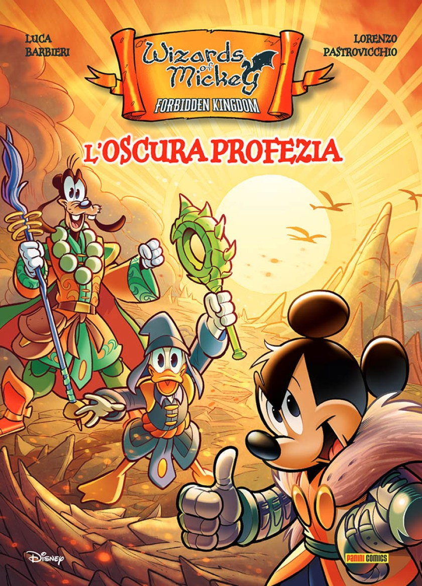 Wizards of Mickey_Cover