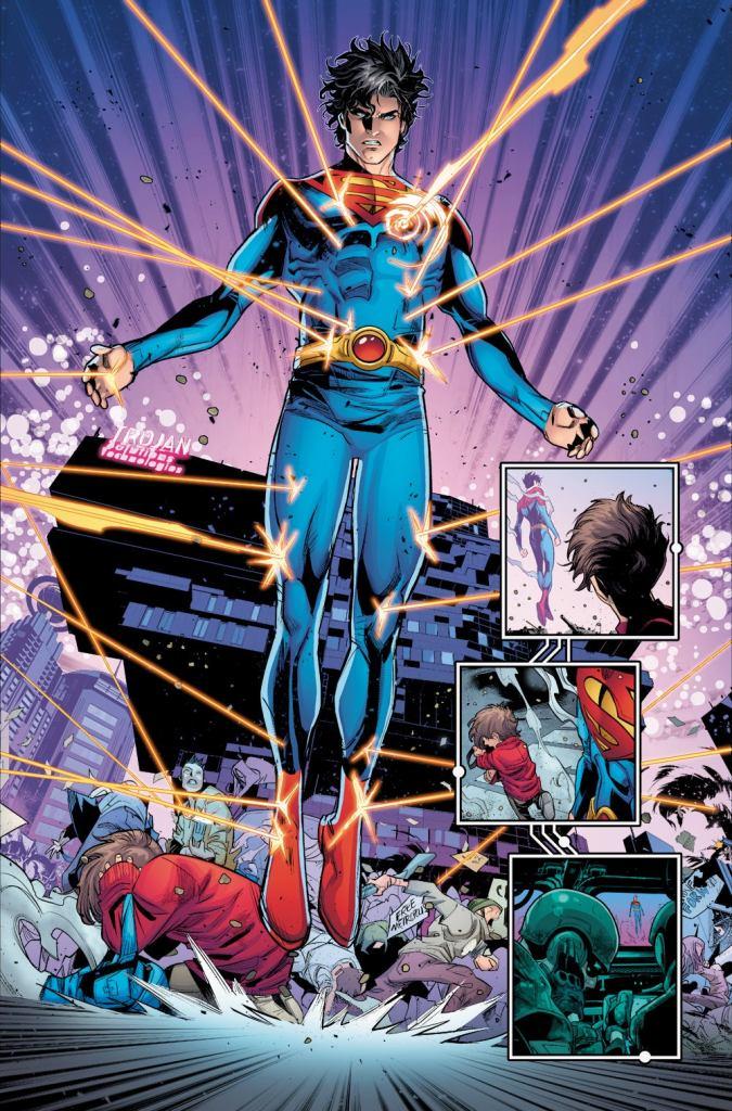 Future State Superman Jon Kent