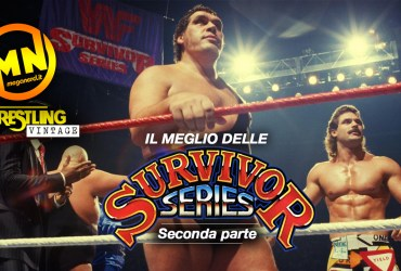 copertina wrestling vintage survivor series 2