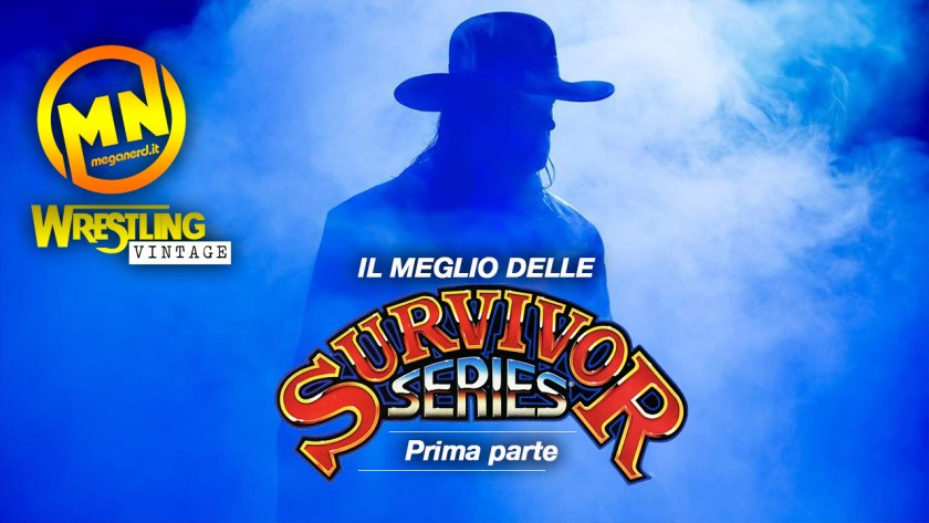 copertina wrestling vintage survivor series