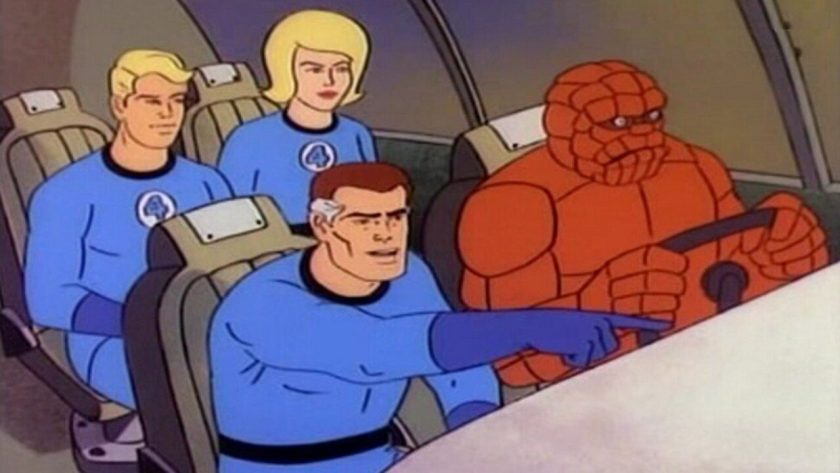 fantastic four cartoon hanna barbera