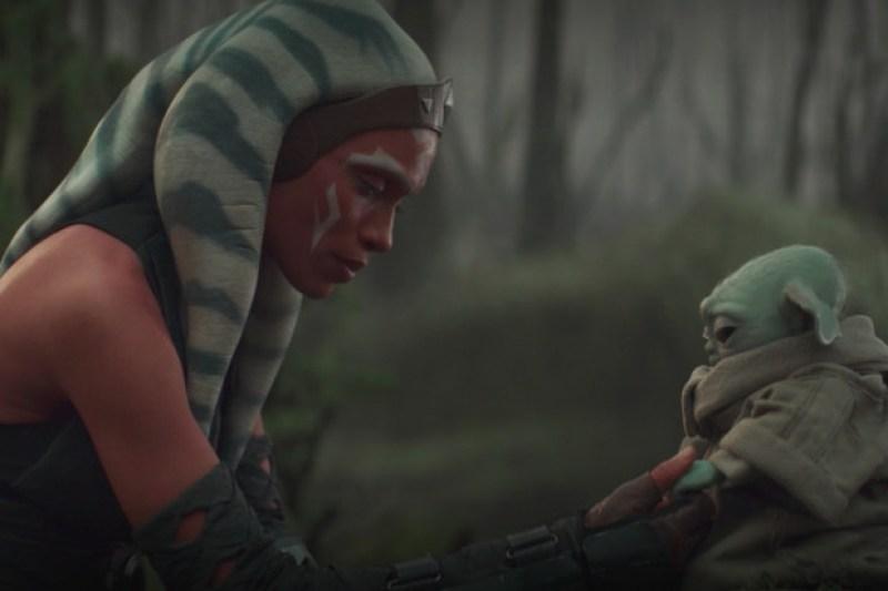 Ahsoka e Baby Yoda