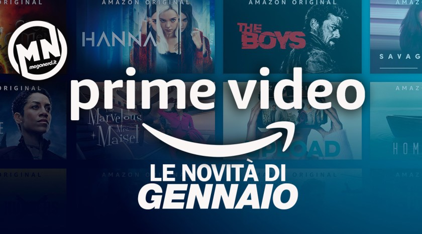 amazon prime video gennaio
