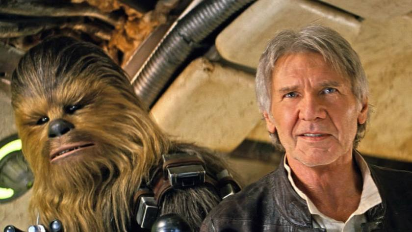 han solo chewbacca the force awakens
