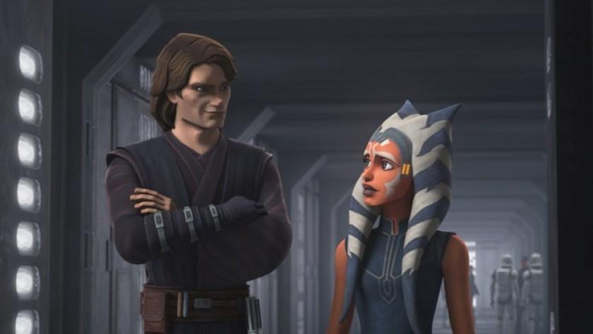 Ahsoka Tano e Anakin Skywalker