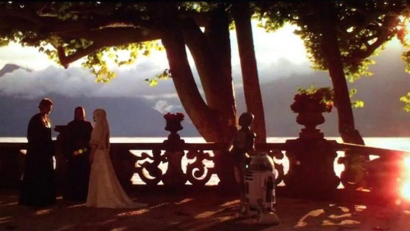 Matrimonio Anakin e Padmé