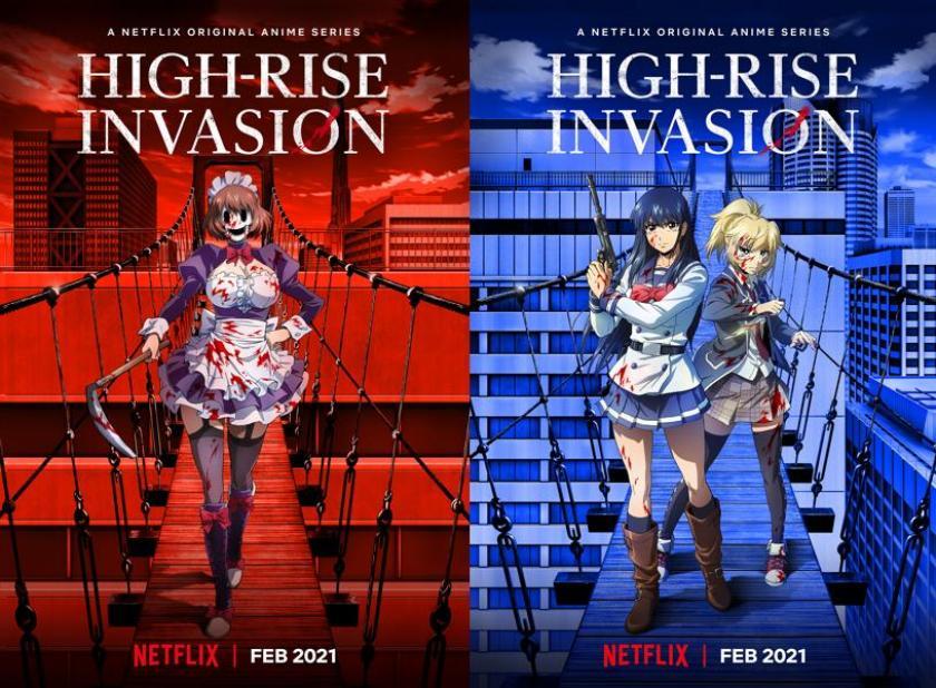 High-Rise Invasion - Da febbraio su Netflix