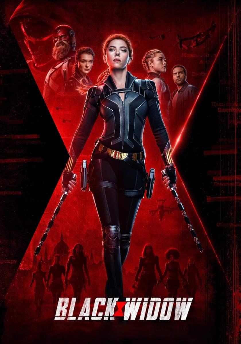 black widow poster 2021