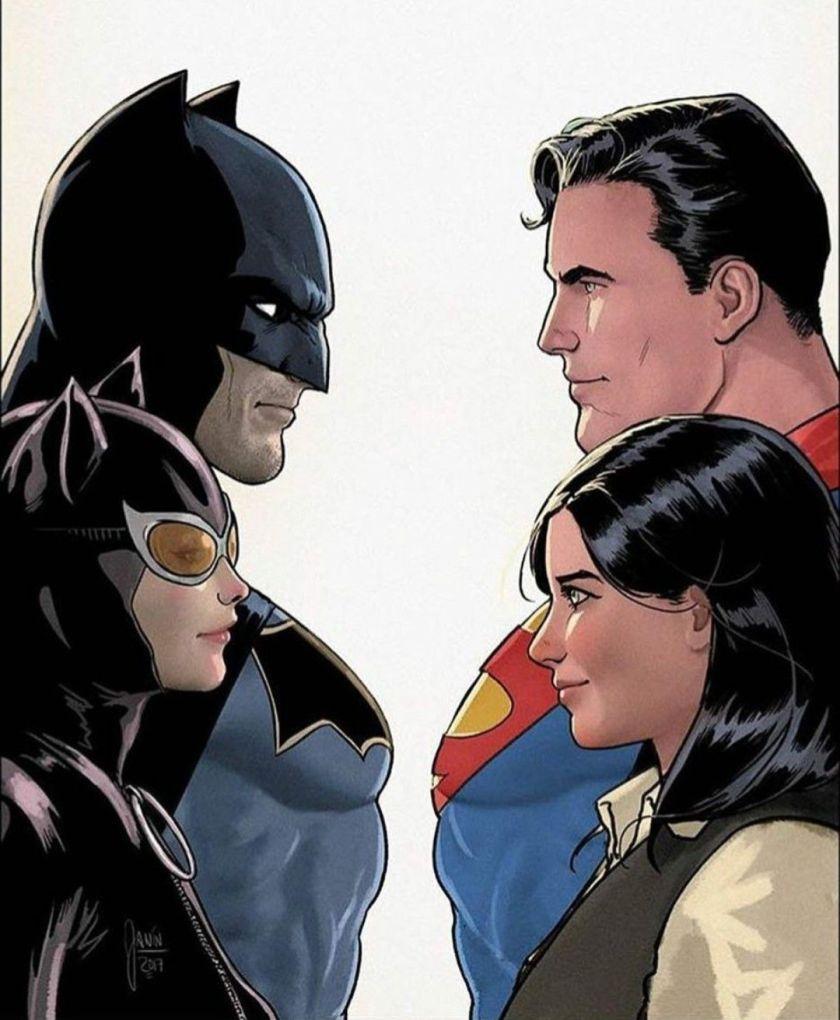 batman superman double date