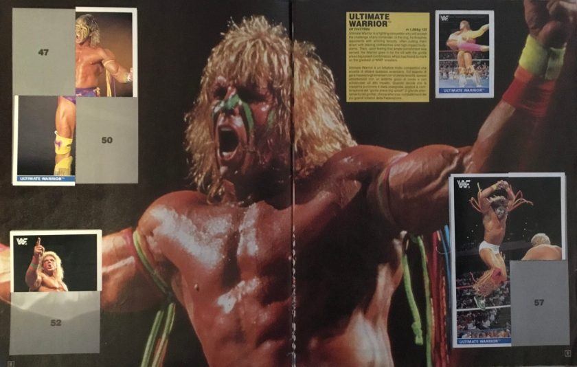 figurine ultimate warrior