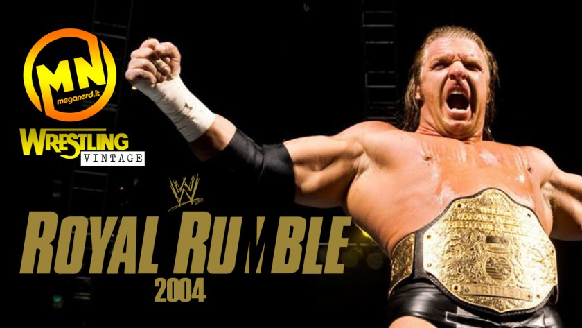 copertina wrestling vintage royal rumble 2004 parte 2