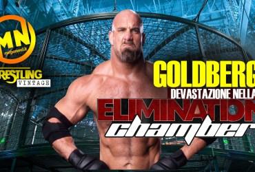 copertina wrestling vintage goldberg