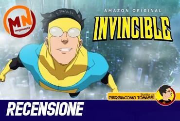 recensione invincible serie animata