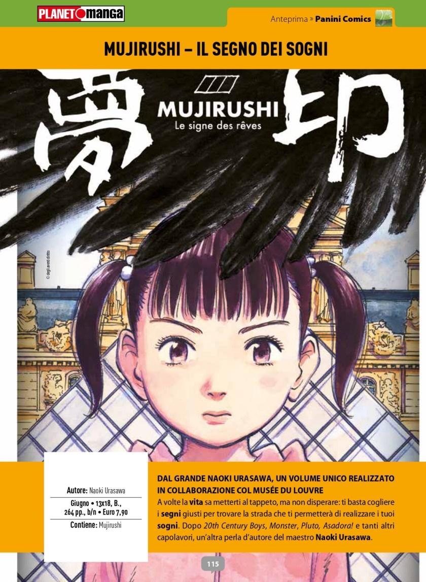 Naoki Urasawa - A giugno arriva Mujirushi