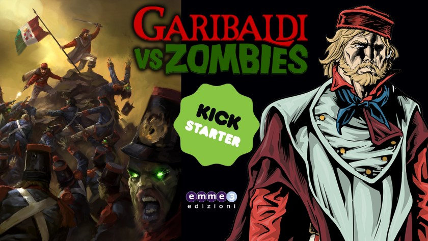 Garibaldi VS Zombies - Arriva il graphic novel fuori di testa