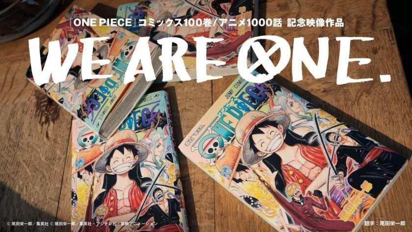 One Piece - La cover del volume 100