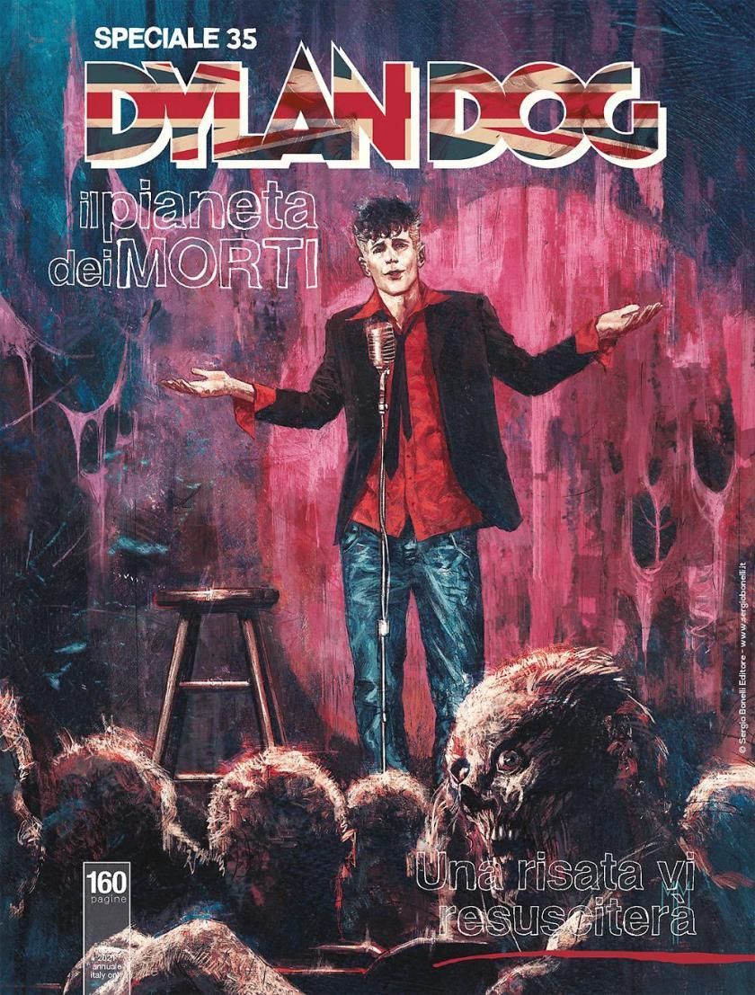 Speciale Dylan Dog n.35 - Il Pianeta dei Morti: Una Risata Vi Resusciterà