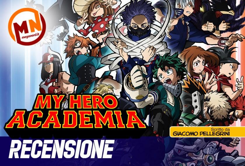 recensione my hero academia 5