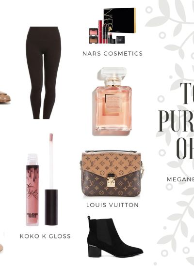 My Favorite Clothing, Shoes and Beauty Purchases of 2019